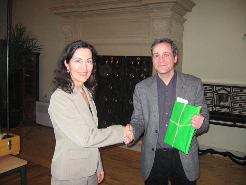 Ein Buch für den Referenten Dr. Norbert Beck