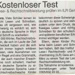 Kostenloser Test